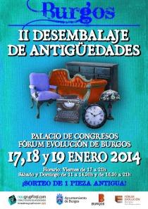 II FERIA DE ANTIGUEDADES EN BURGOS 2014