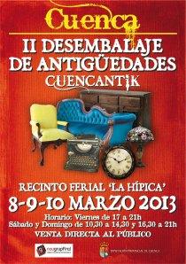 II FERIA DE ANTIGUEDADES EN CUENCA 2013